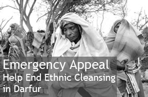 Emergency Appeal: Help End Ethnic Cleansing in Darfur