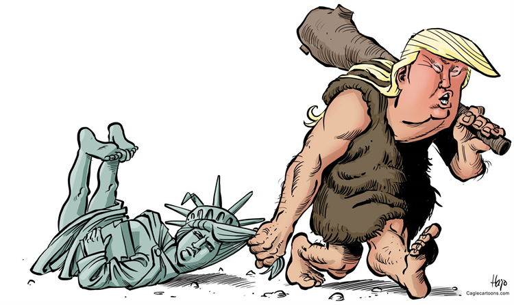 Image result for trump caveman