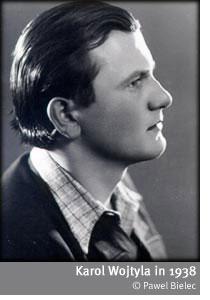 Karol Wojtyla in 1938