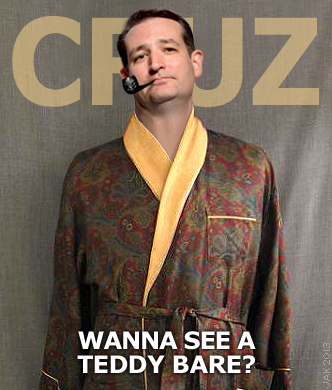 Ted Cruz Nicknames Teddy Bare (see the picture immediately above) Ted Scruz (after allegations that the  devout Christian family man  had affairs with five ...  sc 1 st  The HyperTexts & Donald Trump Halloween Ideas Characters and Costumes: Very Scary!