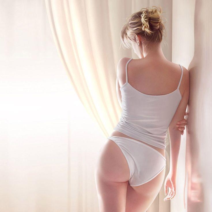 White Cotton Panties Porn 4