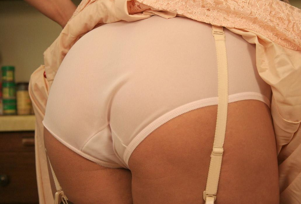 Bras panties pantyhose slips jacking off with them