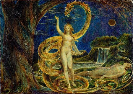 La Prophétie de la Symétrie Miroir - Page 12 William%20Blake%20Eve%20Tempted%20by%20the%20Serpent