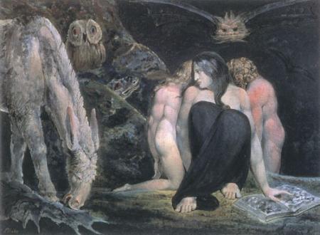 [Blake Print - Hecate]