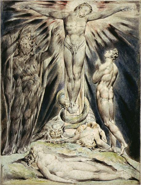 William Blake jesus