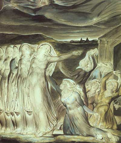 William Blake The Parable of the Wise & Foolish Virgins